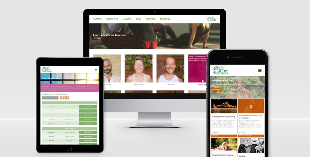 The Yoga Space (Leeds) Website is Launched