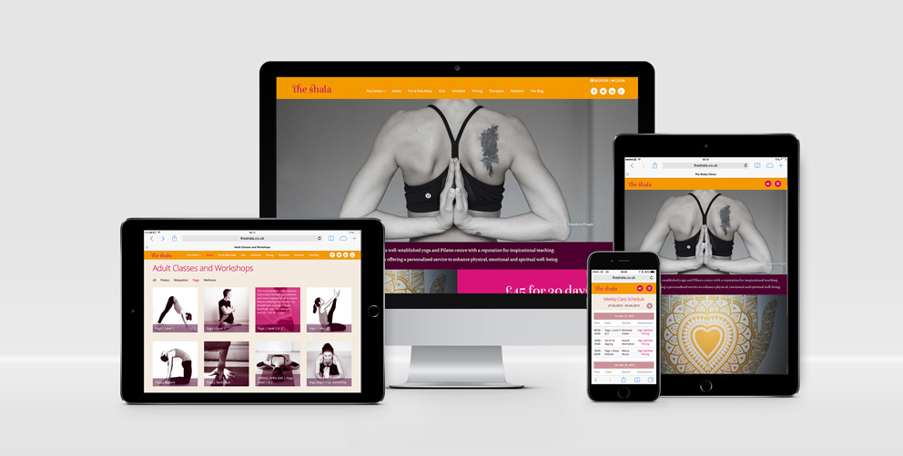 Launch: The Shala Website with YogaWebsite for Mindbody